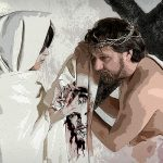 - Ciao Gesù...