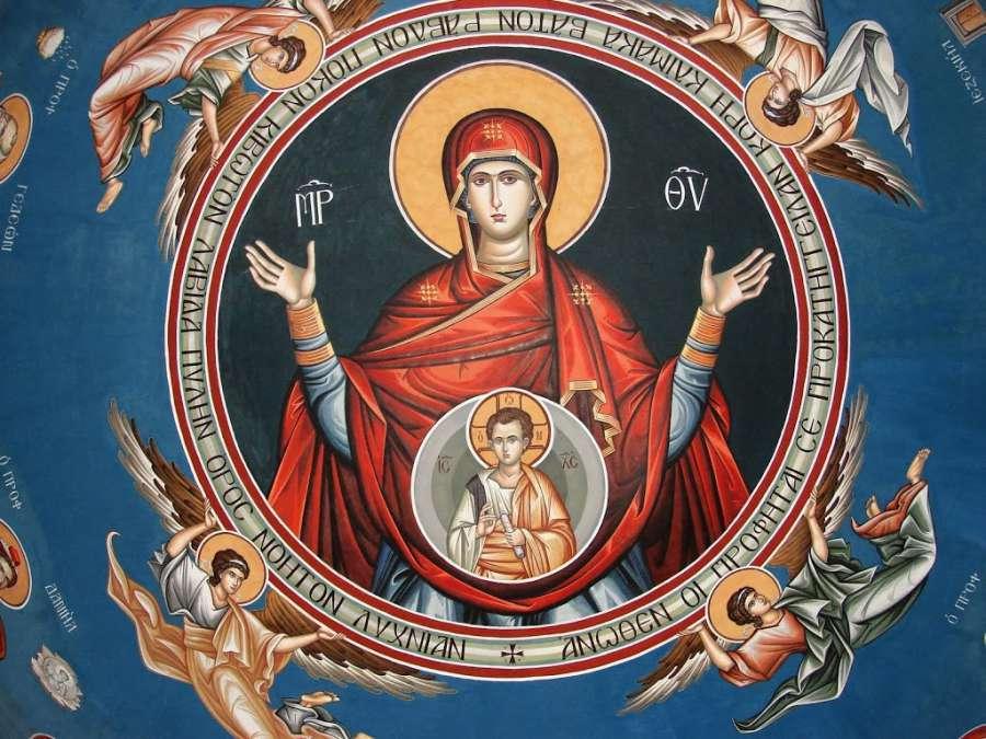 Maria Madre di Dio: voce del Verbo custodire