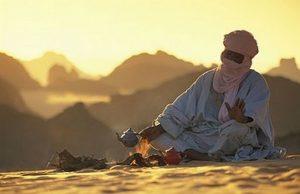 il vero tè nel deserto