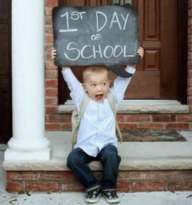 Primo giorno di scuola, inizia una meravigliosa avventura!