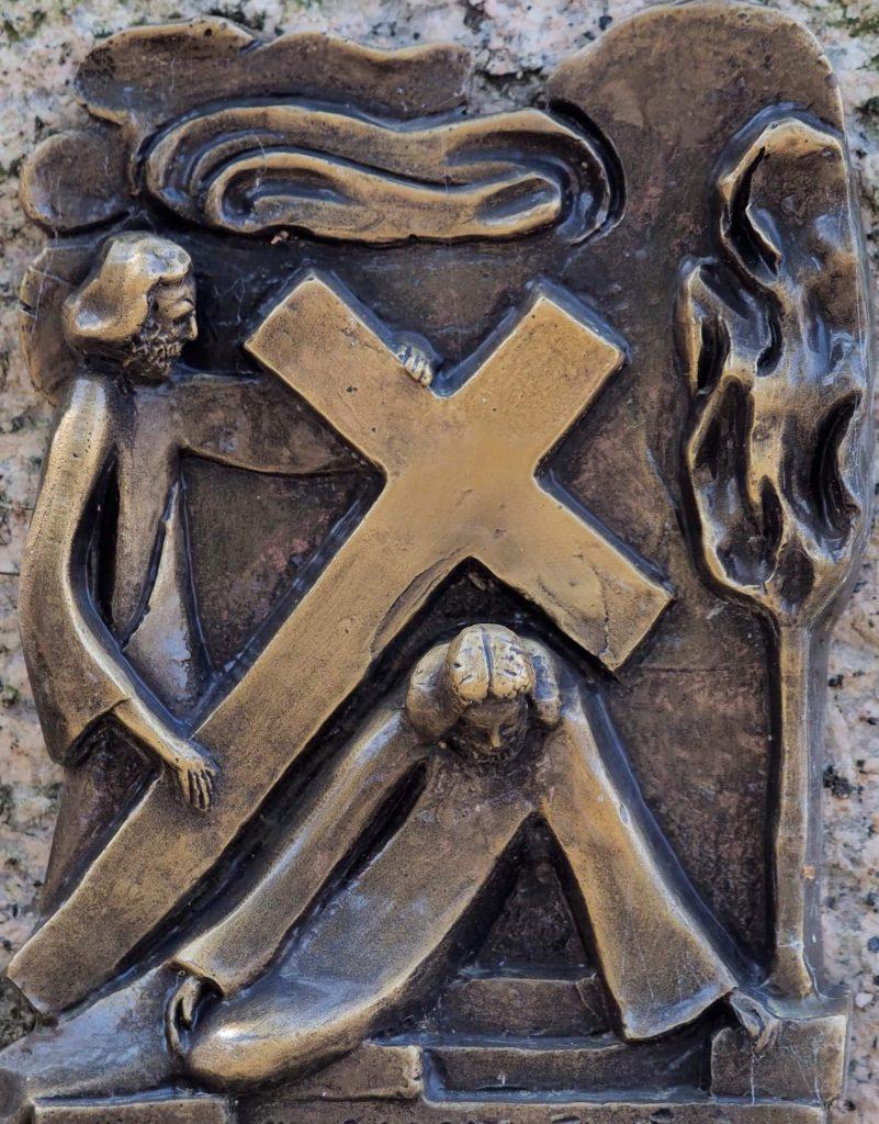 Via Crucis 09: GESÙ CADE PER LA TERZA VOLTA