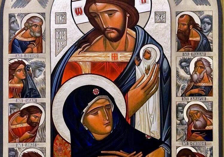 Dormitio della Madre di Dio - Lyuba Yatskiv (Ucraina)